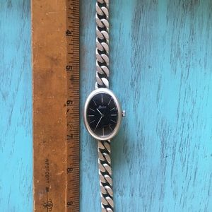 Accessories - Sterling Silver Watch
